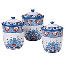 Tangier 3-Pc. Canister Set