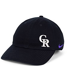 Women's Colorado Rockies Offset Adjustable Cap