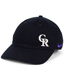 Nike Women's Colorado Rockies Offset Adjustable Cap