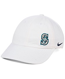 Women's Seattle Mariners Offset Adjustable Cap