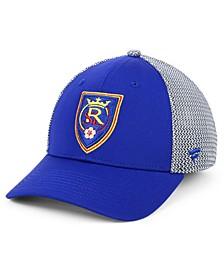 Authentic MLS Headwear Real Salt Lake Versalux Speed Flex Stretch Fitted Cap
