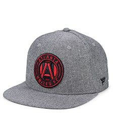 Authentic MLS Headwear Atlanta United FC Chambray Snapback Cap