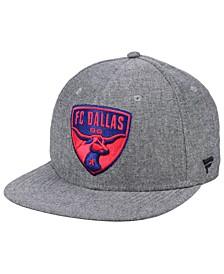 Authentic MLS Headwear FC Dallas Chambray Snapback Cap