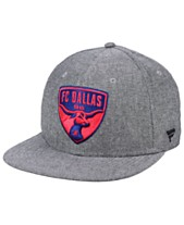 huge discount 3e987 af9a3 Authentic MLS Headwear FC Dallas Chambray Snapback Cap