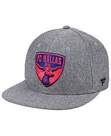 Authentic MLS Headwear FC Dallas Chambray Snapback Cap