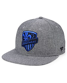 Authentic MLS Headwear Montreal Impact Chambray Snapback Cap