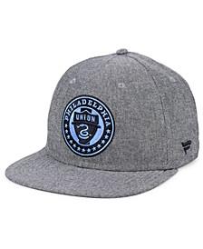 Authentic MLS Headwear Philadelphia Union Chambray Snapback Cap