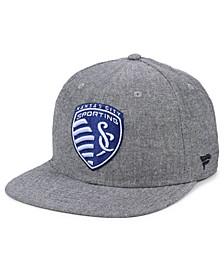 Authentic MLS Headwear Sporting Kansas City Chambray Snapback Cap