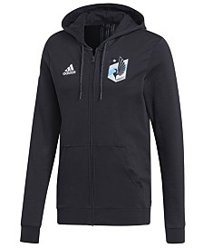 adidas Men's Minnesota United FC Hooded Travel Jacket
