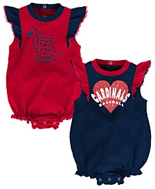Baby St. Louis Cardinals Double Trouble Bodysuit Set