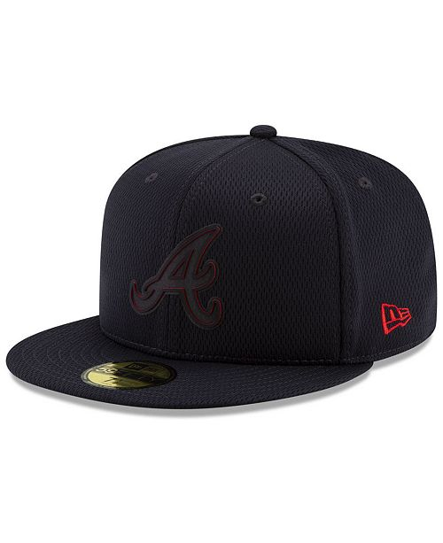 5ae14abe Boys' Atlanta Braves Clubhouse 59FIFTY-FITTED Cap
