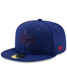 New Era Boys' Texas Rangers Clubhouse 59FIFTY-FITTED Cap