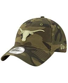 New Era Texas Longhorns Classic Tonal Camo 9TWENTY Strapback Cap
