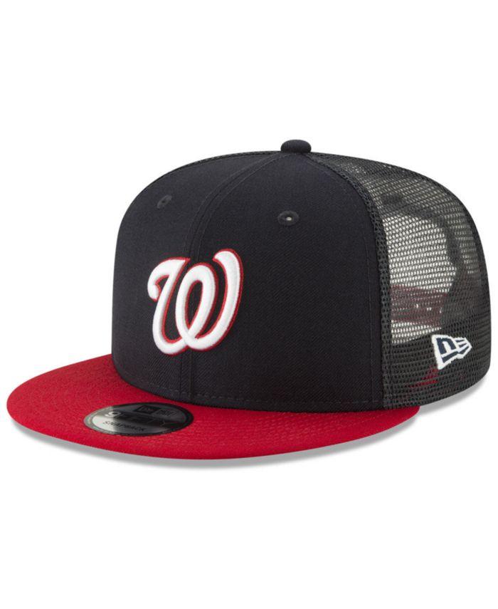 New Era Washington Nationals All Day Mesh Back 9FIFTY Cap & Reviews - Sports Fan Shop By Lids - Men - Macy's