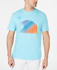 Club Room Men's Wave Graphic T-Shirt, Created for Macy's