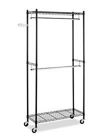 Supreme Double-rod Garment Rack