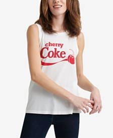 Lucky Brand Cherry Coke Tank Top