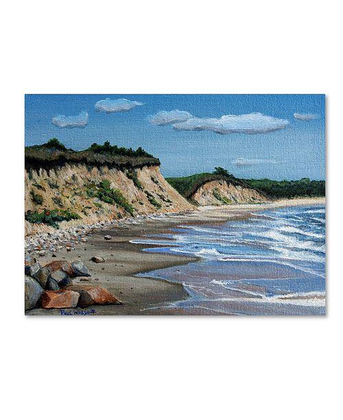 "Trademark Innovations Paul Walsh 'Martha Vinyard' Canvas Art - 32"" x 24"" x 2"""
