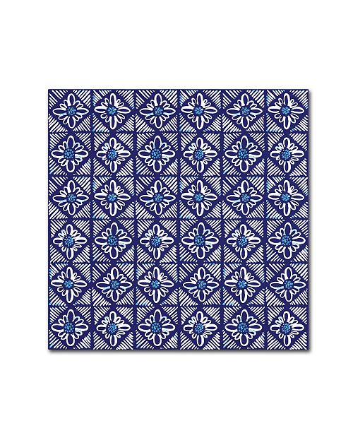 "Trademark Global Yachal Design 'Dancing Petals 400' Canvas Art - 35"" x 35"" x 2"""