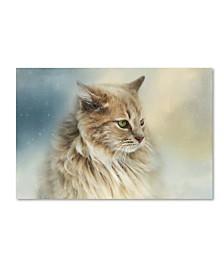 "Jai Johnson 'Watching Snow Fall' Canvas Art - 32"" x 22"" x 2"""