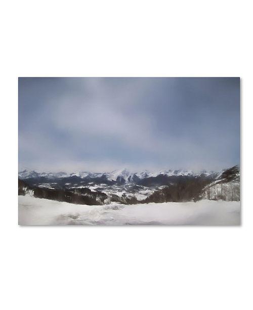 "Trademark Global Jai Johnson 'Winter Impressions In Colorado 10' Canvas Art - 32"" x 22"" x 2"""