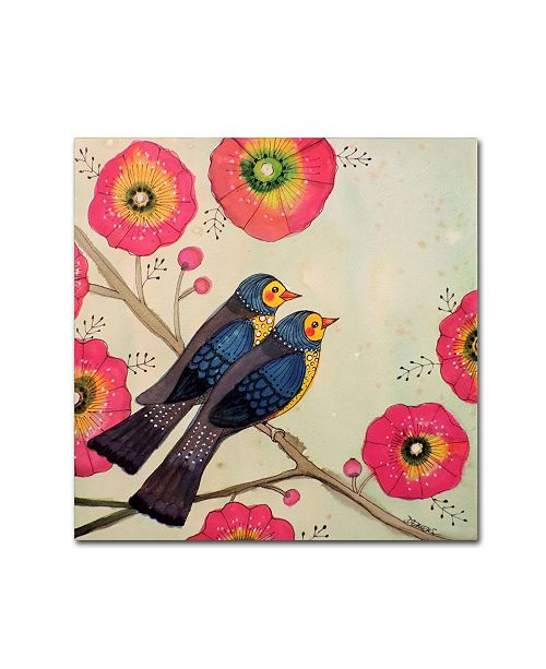 "Trademark Global Sylvie Demers 'Airy Roadtrip' Canvas Art - 14"" x 14"" x 2"""