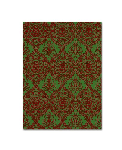 """Trademark Global Jean Plout 'Christmas Folklore 7' Canvas Art - 32"""" x 24"""" x 2"""""""