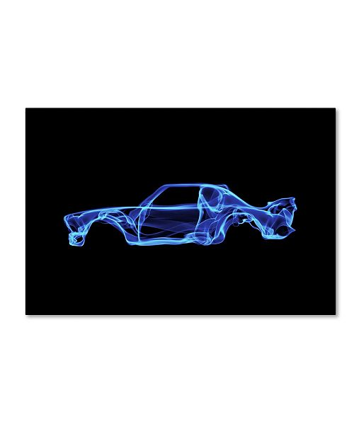 "Trademark Innovations Octavian Mielu 'BMW 30 CSL' Canvas Art - 32"" x 22"" x 2"""
