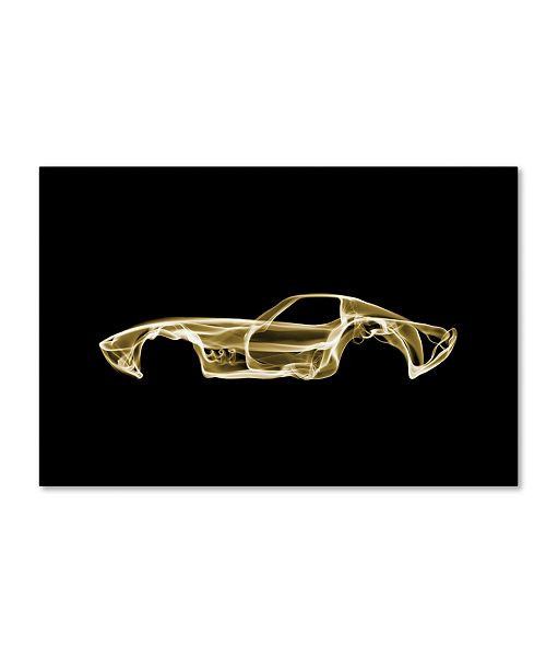 "Trademark Innovations Octavian Mielu 'Corvette C3' Canvas Art - 32"" x 22"" x 2"""
