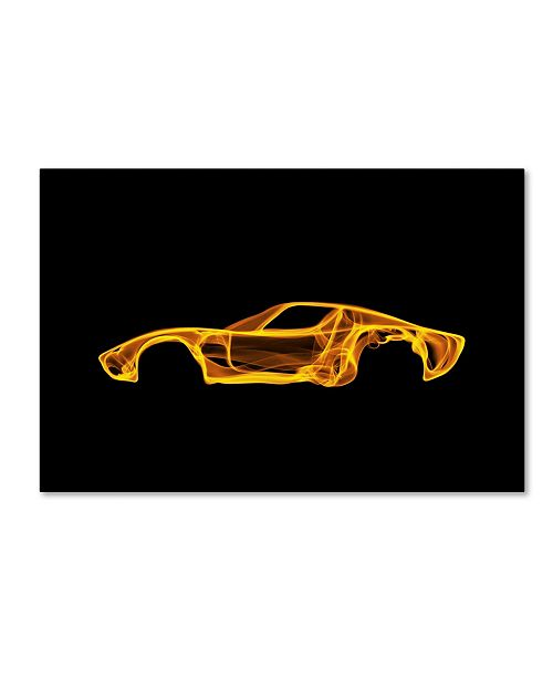 "Trademark Innovations Octavian Mielu 'Lamborghini Miura' Canvas Art - 32"" x 22"" x 2"""