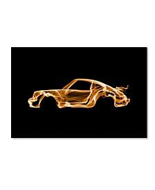 """Octavian Mielu 'Porsche 911 Turbo' Canvas Art - 32"""" x 22"""" x 2"""""""