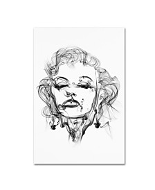 "Octavian Mielu 'Marilyn Monroe' Canvas Art - 32"" x 22"" x 2"""