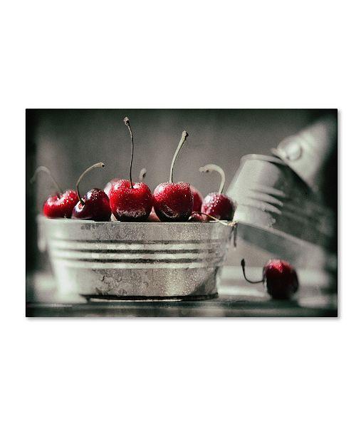 """Trademark Global Joe Felzman Photography 'Cherry Boats' Canvas Art - 19"""" x 12"""" x 2"""""""