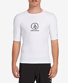 Men's Lido Solid Short Sleeved Rashguard