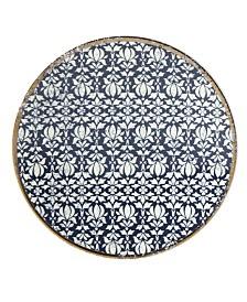 Lenox Global Tapestry Sapphire  Dessert Plate