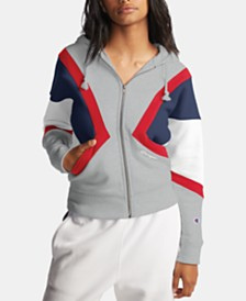 Champion Colorblocked Fleece Zip Hoodie