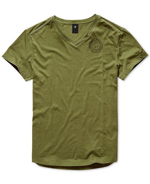 G-Star Raw Men's V-Neck T-Shirt, Created for Macy's