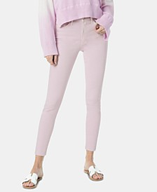 Spectrum Raw-Hem Skinny Jeans