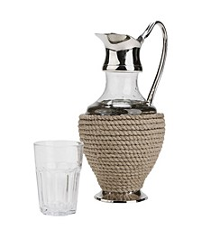 Rope and Glass Pitcher