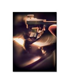 """Joe Felzman Photography 'Turntable With Stylist' Canvas Art - 32"""" x 24"""" x 2"""""""