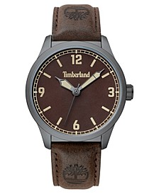 Men's Orrington Dark Brown/Gunmetal Watch