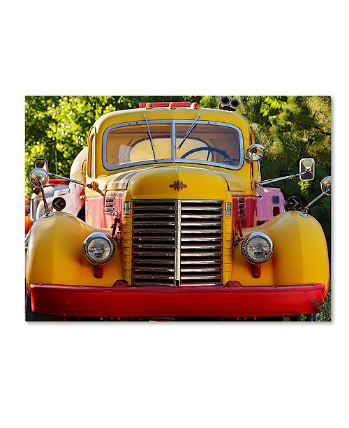 "Trademark Global Mike Jones Photo 'Gold King Mine Yellow Truck' Canvas Art - 19"" x 14"" x 2"""