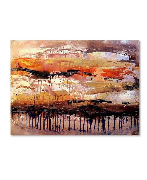 "Trademark Global Natasha Wescoat 'Soar' Canvas Art - 19"" x 14"" x 2"""