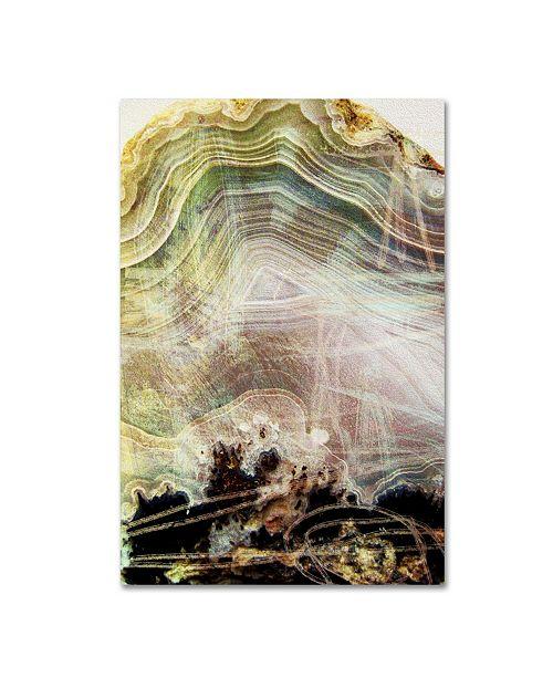 "Trademark Global Natasha Wescoat 'Gate 9' Canvas Art - 19"" x 12"" x 2"""