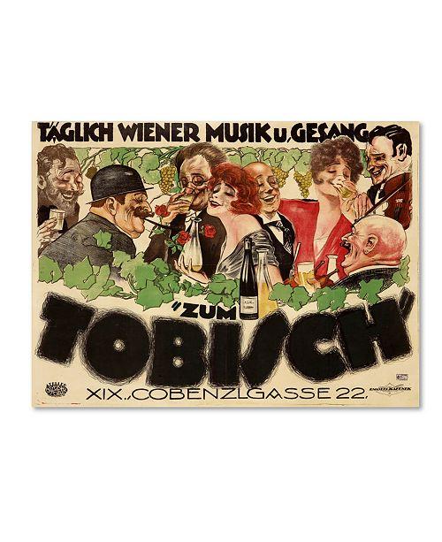 """Trademark Global Vintage Apple Collection 'Tobisch' Canvas Art - 19"""" x 14"""" x 2"""""""