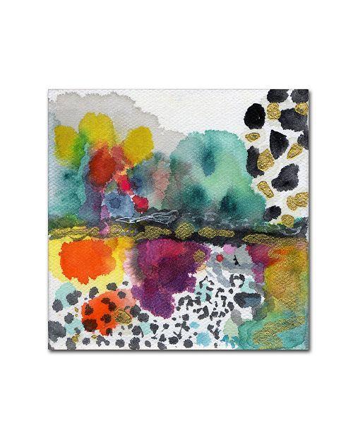 """Trademark Global Wyanne 'Aftermath' Canvas Art - 14"""" x 14"""" x 2"""""""