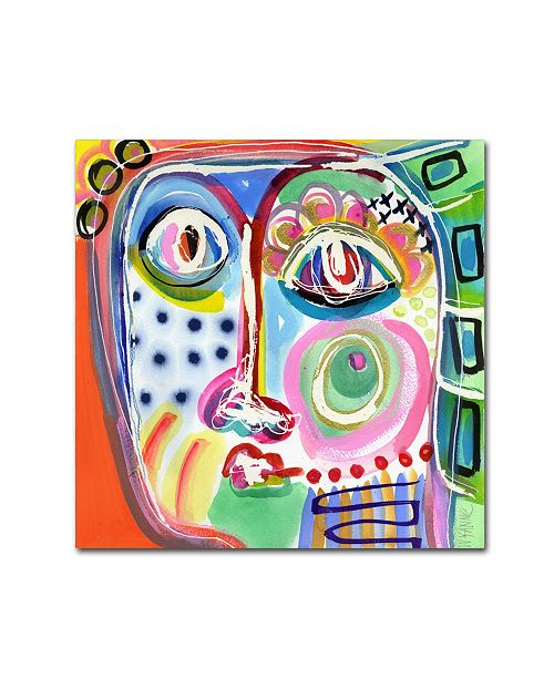 """Trademark Global Wyanne 'Dont Be Such A Sad Sack' Canvas Art - 24"""" x 24"""" x 2"""""""