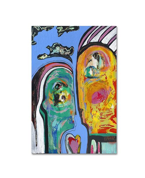 "Trademark Global Wyanne 'Together' Canvas Art - 19"" x 12"" x 2"""