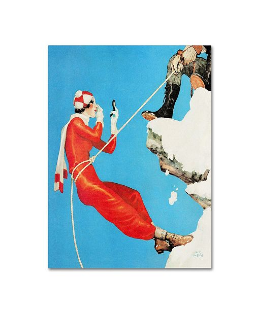 "Trademark Global Vintage Lavoie 'Fashion 22' Canvas Art - 24"" x 18"" x 2"""