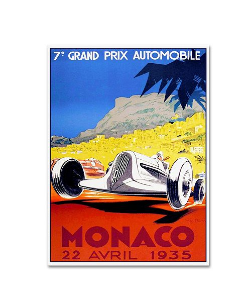 "Trademark Global Vintage Lavoie 'Travel 312' Canvas Art - 47"" x 35"" x 2"""
